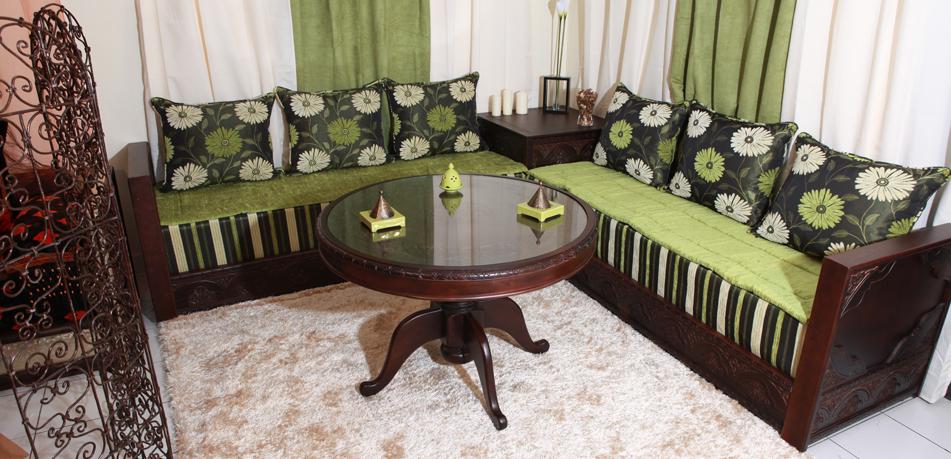 Royal d co salon de meuble oriental meuble bruxelles - Model coussin marocain ...