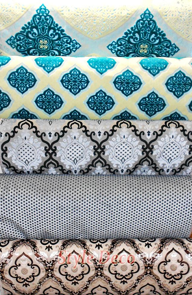 tissus salon marocain. Black Bedroom Furniture Sets. Home Design Ideas